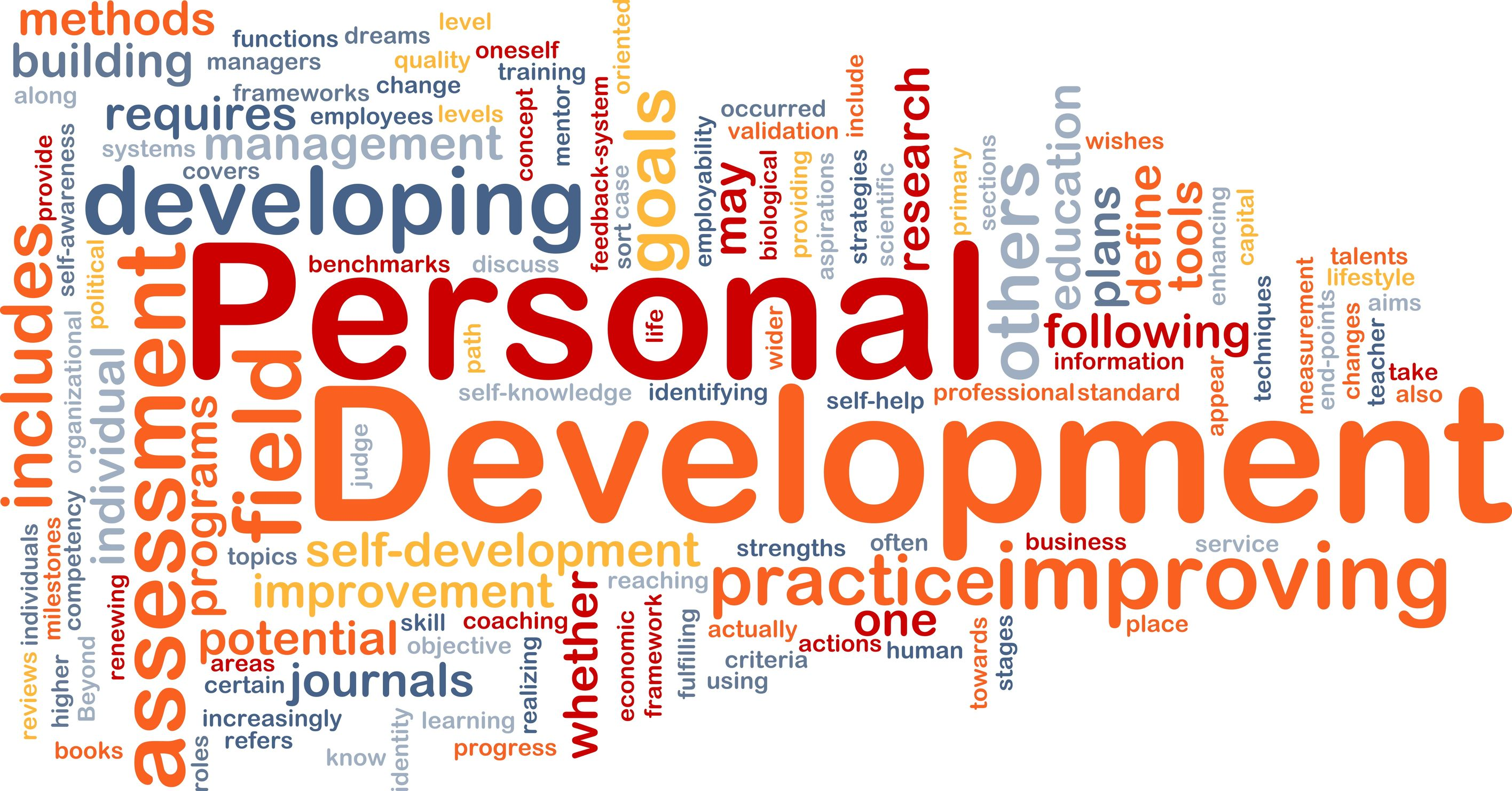 Personal development blogs 2013